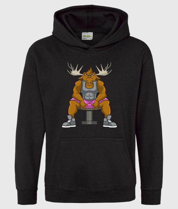 DME Black kid hoodie
