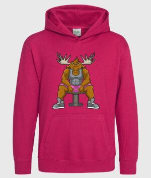 DME Hot pink kid hoodie