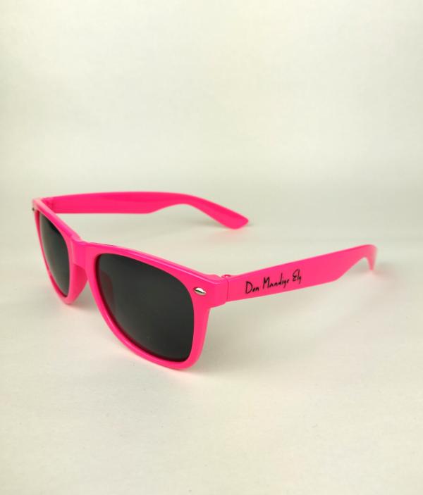den mandige elg sunglasses pink 2