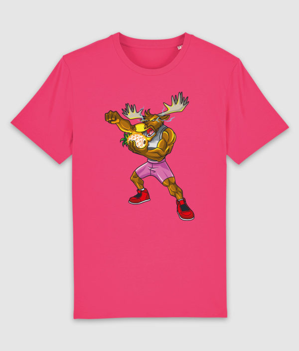dme thanos elg tshirt pink punch front